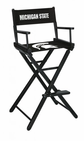 Michigan State Spartans Bar Height Director's Chair