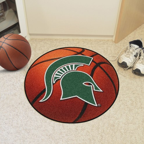 Michigan State Spartans Basketball Mat