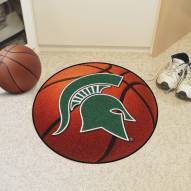 Michigan State Spartans Basketball Mat