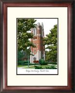 Michigan State Spartans Alumnus Framed Lithograph