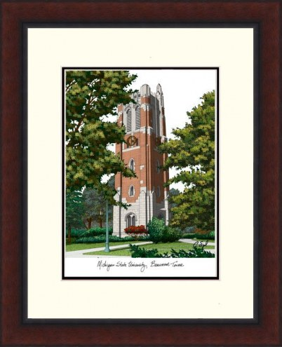Michigan State Spartans Legacy Alumnus Framed Lithograph