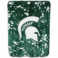 Michigan State Spartans Bedspread