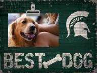 Michigan State Spartans Best Dog Clip Frame
