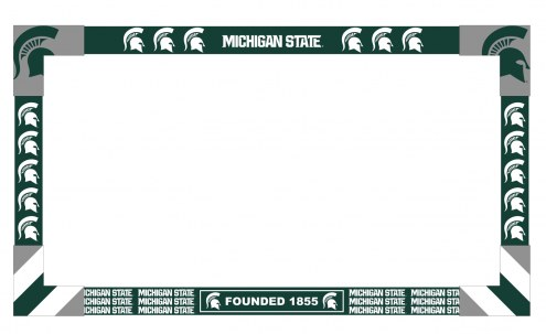 Michigan State Spartans Big Game Monitor Frame