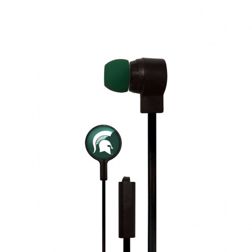 Michigan State Spartans Big Logo Ear Buds