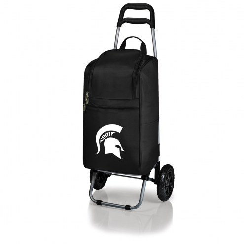 Michigan State Spartans Black Cart Cooler
