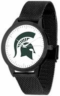 Michigan State Spartans Black Mesh Statement Watch