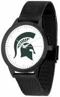 Michigan State Spartans Black Mesh Statement Watch