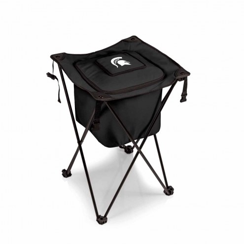 Michigan State Spartans Black Sidekick Portable Cooler