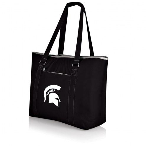 Michigan State Spartans Black Tahoe Beach Bag