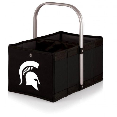 Michigan State Spartans Black Urban Picnic Basket
