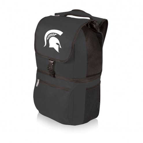 Michigan State Spartans Black Zuma Cooler Backpack