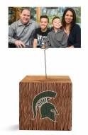 Michigan State Spartans Block Spiral Photo Holder