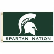 Michigan State Spartans Nation Premium 3' x 5' Flag