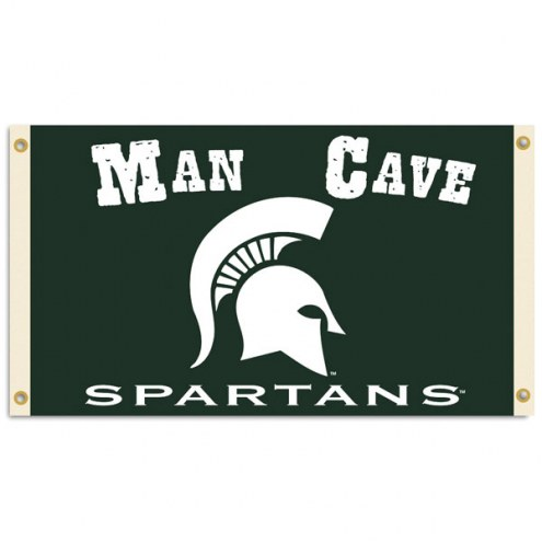 Michigan State Spartans Man Cave 3' x 5' Flag