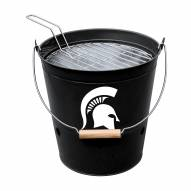 Michigan State Spartans Bucket Grill