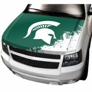 Michigan State Spartans Car Hood Cover