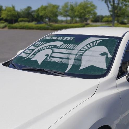 Michigan State Spartans Car Sun Shade