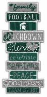 Michigan State Spartans Celebrations Stack Sign