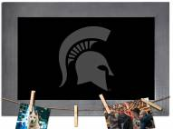 Michigan State Spartans Chalkboard with Frame