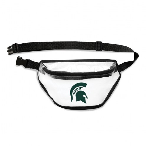 Michigan State Spartans Clear Fanny Pack