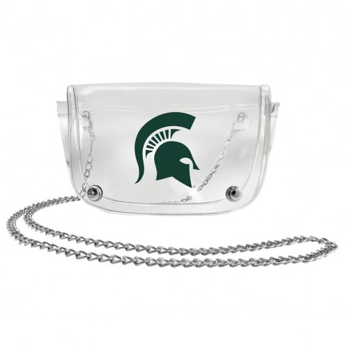 Michigan State Spartans Clear Waistpack