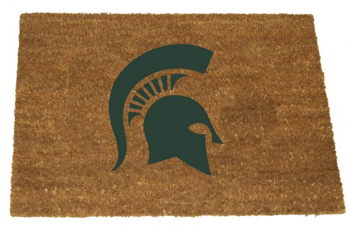 Michigan State Spartans Colored Logo Door Mat
