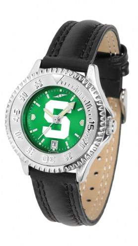 Michigan State Spartans Competitor AnoChrome Women's Watch