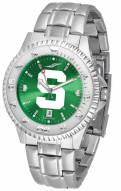 Michigan State Spartans Competitor Steel AnoChrome Men's Watch