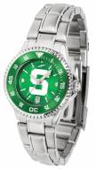 Michigan State Spartans Competitor Steel AnoChrome Women's Watch - Color Bezel