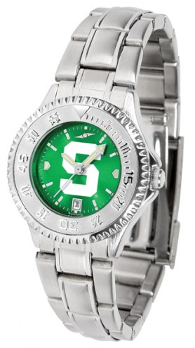 Michigan State Spartans Competitor Steel AnoChrome Women's Watch