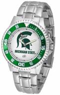 Michigan State Spartans Competitor Steel Men's Watch