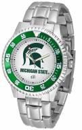 Michigan State Spartans Competitor Steel Men's Watch