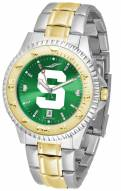 Michigan State Spartans Competitor Two-Tone AnoChrome Men's Watch