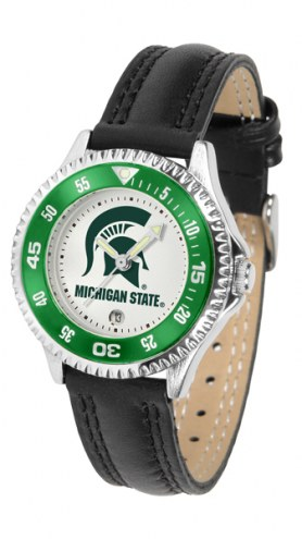 Michigan State Spartans Competitor Women's Watch