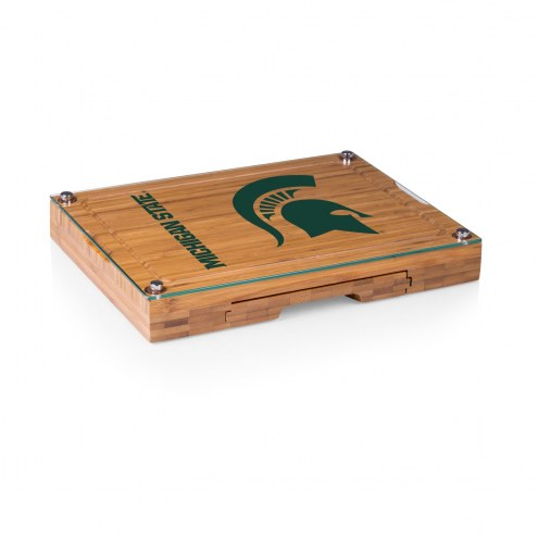 Michigan State Spartans Concerto Bamboo Cutting Board