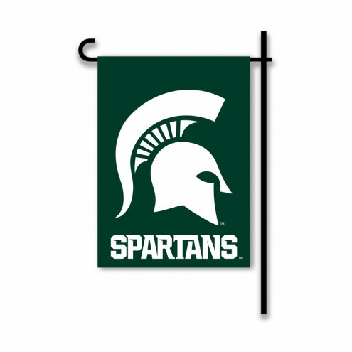 Michigan State Spartans Country Garden Flag