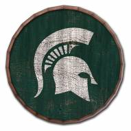 """Michigan State Spartans Cracked Color 16"""" Barrel Top"""