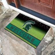 Michigan State Spartans Crumb Rubber Door Mat