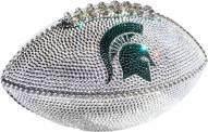 Michigan State Spartans Swarovski Crystal Football