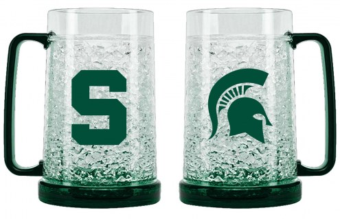 Michigan State Spartans Crystal Freezer Mug