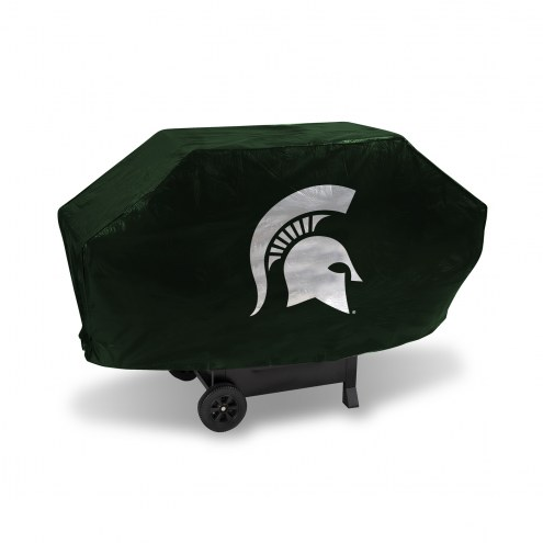Michigan State Spartans Deluxe Padded Grill Cover