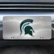 Michigan State Spartans Diecast License Plate