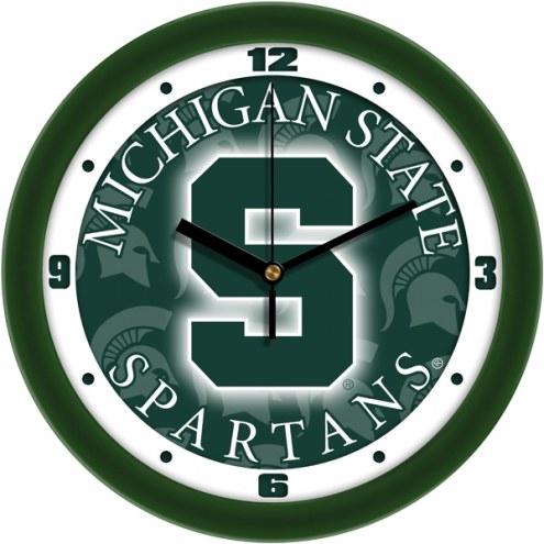 Michigan State Spartans Dimension Wall Clock