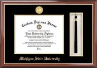 Michigan State Spartans Diploma Frame & Tassel Box