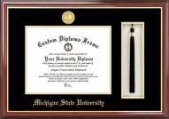 Michigan State Spartans Diploma Frame & Tassel Box