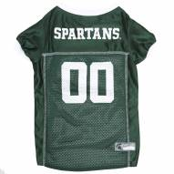 Michigan State Spartans Dog Football Jersey