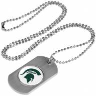 Michigan State Spartans Dog Tag