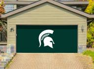 Michigan State Spartans Double Garage Door Banner