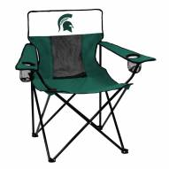 Michigan State Spartans Elite Tailgating Chair